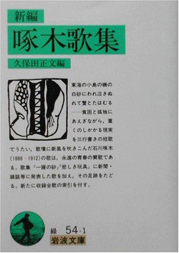 新編 啄木歌集 (岩波文庫 緑54-1)