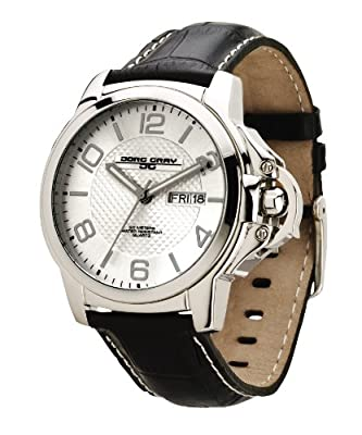 Jorg Gray JG1850-18 Men's Quartz Silver Dial Leather St