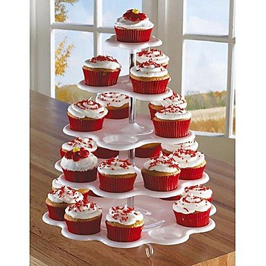 25 Count 5 Tier CupCake Stand Birthday Cake Holder