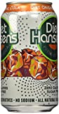 Hansen's Diet Soda Cans, Original Cola, 12 Ounce (Pack of 24)
