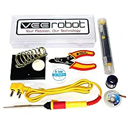VEEROBOT DIY 7 in 1 Electronics Kit 25 W Soldering Iron