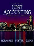Cost Accounting: A Managerial Emphasis (10th Edition)