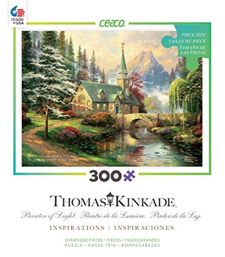 Ceaco Thomas Kinkade Inspirations - Dogwood Chapel Puzzle
