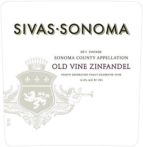 2011 Sivas-Sonoma Old Vine Zinfandel