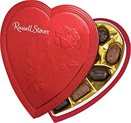 Russell Stover Valentine\'s Day Red Foil Heart, 7 oz.