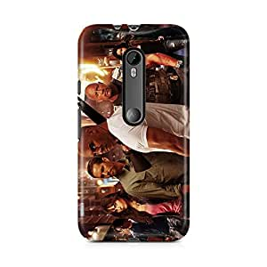 Motivatebox-Moto G3 (Third Generation) cover-All Star Fast and Furious Polycarbonate 3D Hard case protective back cover. Premium Quality designer Printed 3D Matte finish hard case back cover.