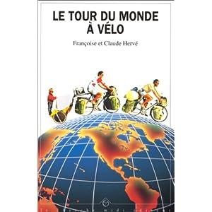 Libro: La vuelta al mundo en bicicleta por Françoise y Claude Hervé