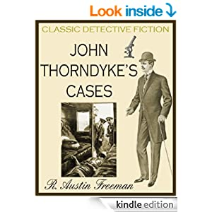 JOHN THORNDYKE'S CASES (illustrated, detective mysteries)