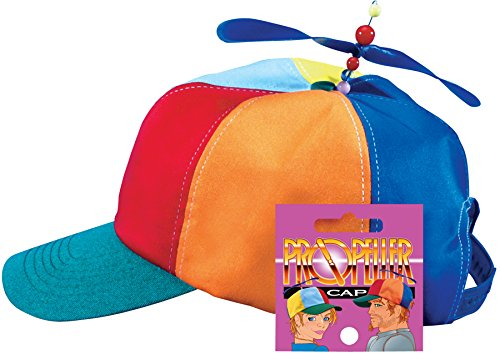 Star Power Cap with Propeller Beanie Party Hat, One-Size