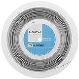 Luxilon ALU Power 125 16L Silver tennis string (330 foot, 100M reel) by Luxilon