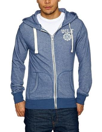UCLA - Sweat-shirt à capuche - Homme - Bleu (Twilight Blue) - FR : M (Taille fabricant : M)