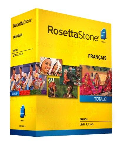 Rosetta Stone, French, Version 4 TOTALe: Level 1, 2 & 3 (Mac/PC)