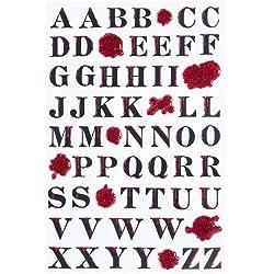 Martha Stewart Crafts Halloween Bloody Alphabet Stickers