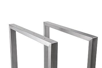Frame Stainless Steel 800 wide TRG800 Table Tischkufe skid base