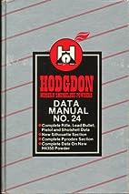Hodgdon Data Manual No. 24 by Hodgdon Powder…