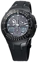 Men's watches special offers - Citizen Men's Eco-Drive Black Skyhawk Watch #JR3155-03E :  mens watch citizen