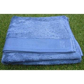5 santens serviette bambou coloris bleu riviera drap de bain 103x150 cm drap de. Black Bedroom Furniture Sets. Home Design Ideas