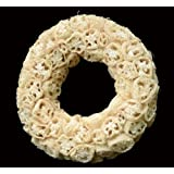 Exotic Creations Spicy Aroma - Dried flower wreath(Natural,L=40 cm X W=40 cm X D= 40 cm)