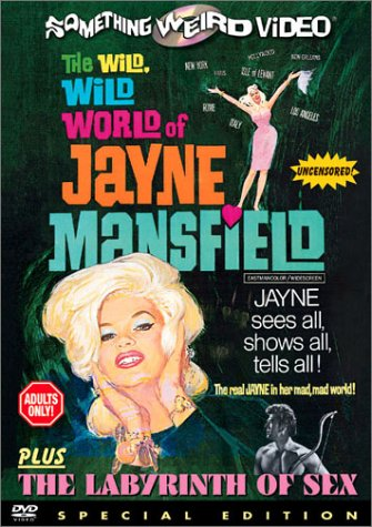 Wild Wild World of Jayne Mansfield & Labyrinth of [DVD] [1968] [Region 1] [US Import] [NTSC]