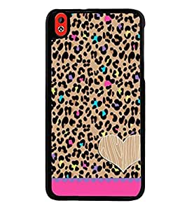 Fuson Premium 2D Back Case Cover Pattern design With Pink Background Degined For HTC Desire 816::HTC Desire 816 G