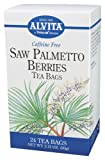 Alvita - Saw Palmetto Berries Tea Bags, 24 bag
