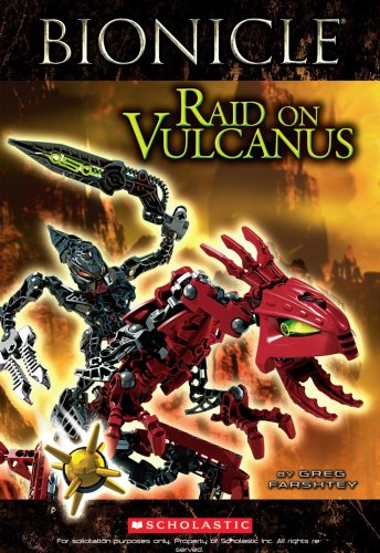 Bionicle: Raid on Vulcanus, Buch