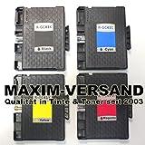 4 XXL Gel Druckerpatronen für Ricoh GC-41 Black, Cyan,...