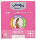Sanatogen Pregnancy Mum to Be Plus Omega 3 Before and During Pregnancy Tablets - Pack of 60