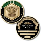 Army Commendation Medal Coin - Engravable Challenge Coin