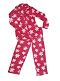 519GXyzM%2B7L. SL160  Nicole Miller New York Womens Pajama Set  Red Snowflake  Small