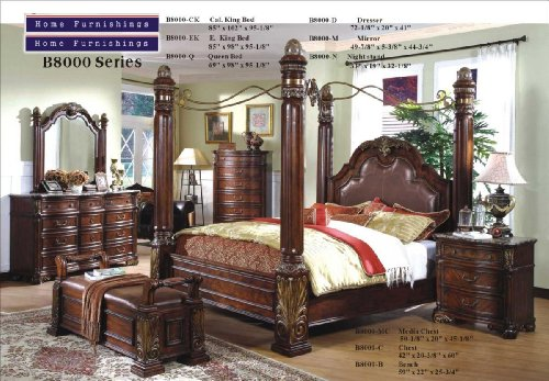 King Size Canopy Bedroom Sets 163850 front