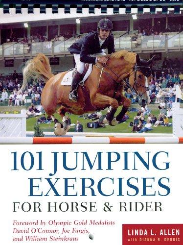 Linda Allen  Dianna Robin Dennis - 101 Jumping Exercises for Horse & Rider