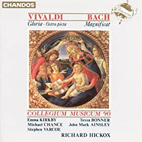 Vivaldi: Ostro Picta, Armata Spina / Gloria in D Major / Bach, J.S.: Magnificat in D Major
