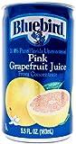 Bluebird  Pink Grapefruit Juice, 5.5-Ounce Cans (Pack of 24)