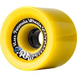 Sector 9 Race Formula Skateboard Wheel, Yellow, 72mm 78A by Sector 9