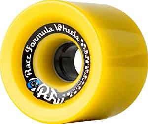 Buy Sector 9 Race Formula Skateboard Wheel, Yellow, 72mm 78A by Sector 9 now!