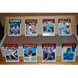 1986 Topps Baseball Complete Set (792 Cards) (Ozzie Guillen) Len Dykstra) Cecil Fielder) Rookie Cards)