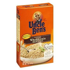 Amazon.com : Uncle Ben's Natural Whole Grain Brown Rice 16