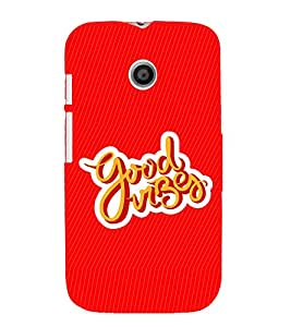 GADGET LOOKS PRINTED BACK COVER FOR MOTOROLA MOTO E MULTICOLOR