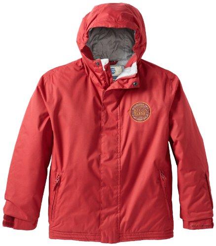 Billabong Little Boys' Coach Jacket, Bordeaux, Medium front-128765