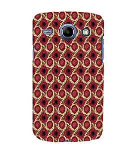 EPICCASE awesome flower Mobile Back Case Cover For Samsung Galaxy Core (Designer Case)