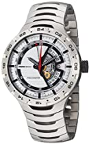 MomoDesign Race Master GMT Silver Dial Titanium Mens Watch MD090-03SL-MB