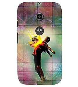 PRINTSWAG DANCER Designer Back Cover Case for MOTOROLA MOTO E2