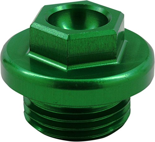 Works Connection Green Ano Oil Filler Plug 24-198 (Kawasaki Oil Dipstick compare prices)