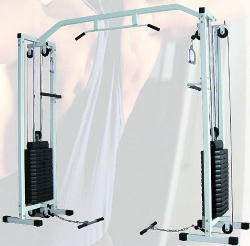 CABLE CROSS OVER MACHINE w/150KG WEIGHT 12 MONTHS WARRANTY HOME GYM /DELIVERY-UK MAINLAND ONLY