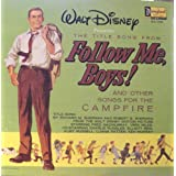 "WALT DISNEY ""FOLLOW ME BOYS"" CAMPFIRE SONGS LP ~ Fred MacMurray"