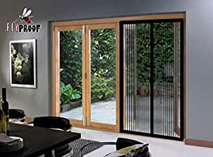 Magnetic screen door mesh curtain xl premium made for for French door magnetic screen