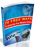 img - for 20 Free Ways to Advertise Your Website Online book / textbook / text book