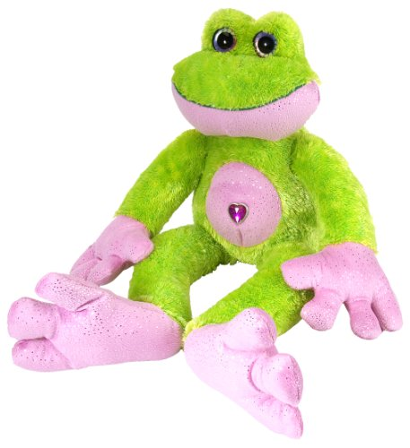 "Wild Republic Frog Sweet and Sassy 12"" Plush"