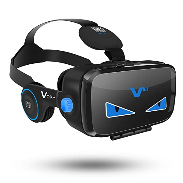 5b3fd34c476 VR Goggles With Headphones